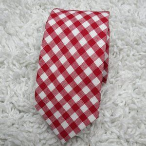 Mosaic Brand Cotton Gingham Check Tie